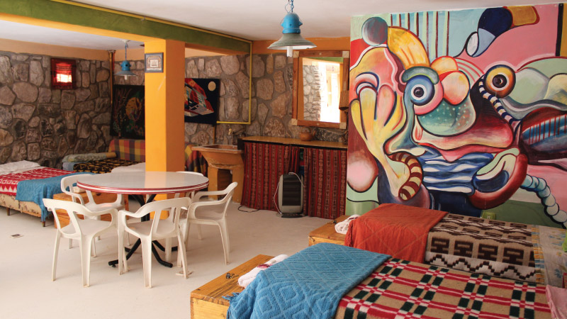 Shared Room from the Hotel Antigua Tilcara, in Jujuy, Argentin
