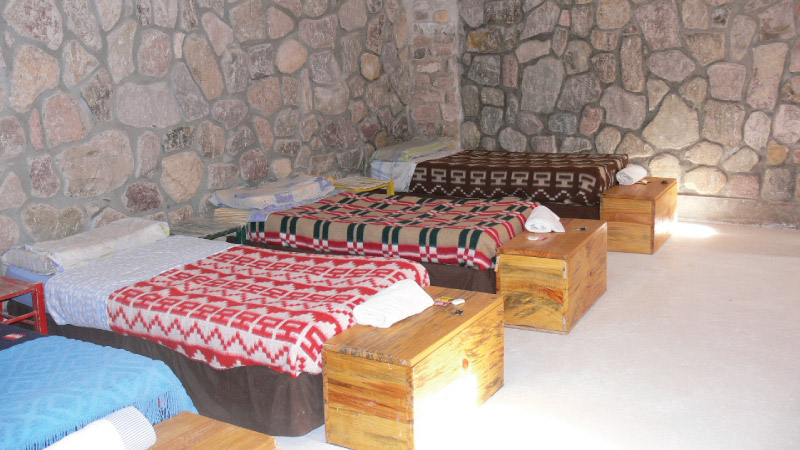Single Bed from the Hostel Antigua Tilcara, in Jujuy, Argentina