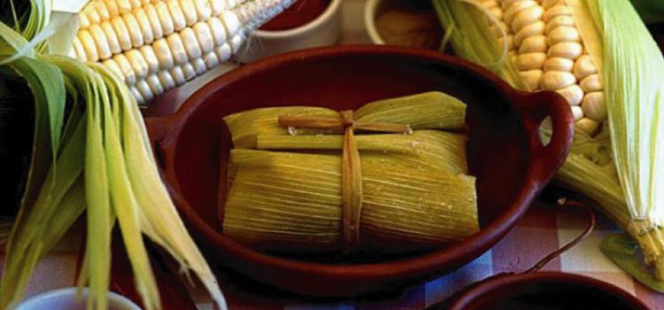 Humita, comida típica del norte argentino