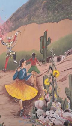 Mural en Tilcara