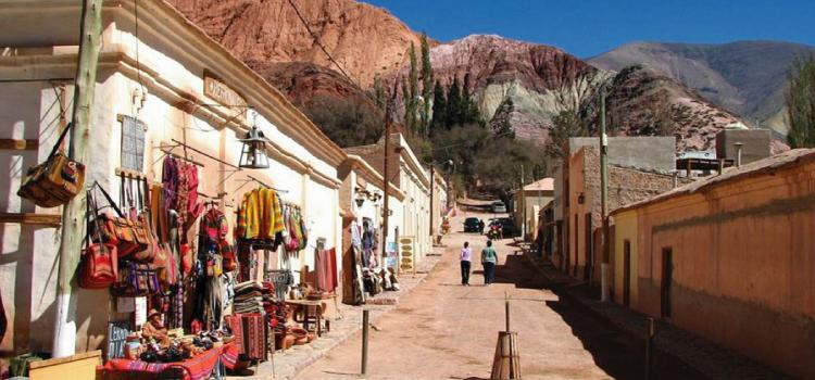 Paisajes y colores de la Quebrada de Humahuaca