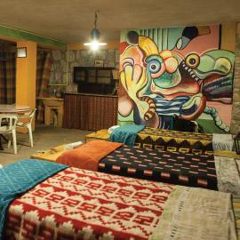 Habitación de Hostel del Hotel Antigua Tilcara
