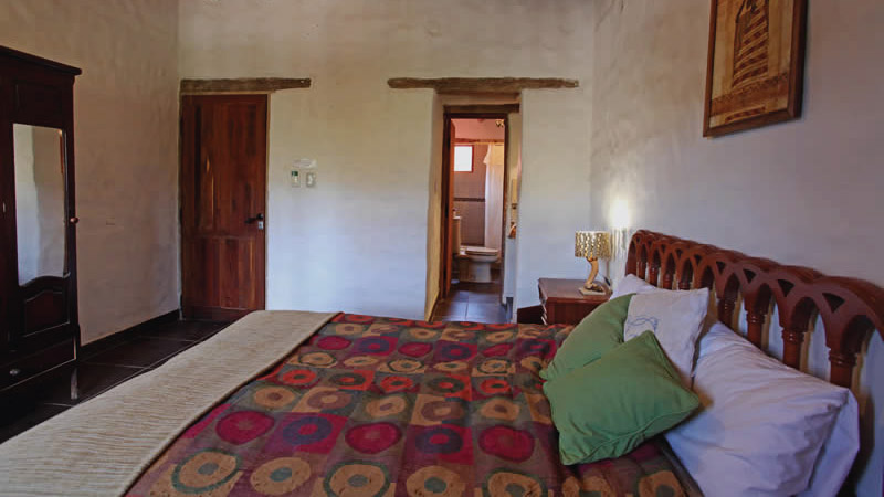Amenities of the Superior double bed Room from the Hotel Antigua Tilcara, in Jujuy, Argentina