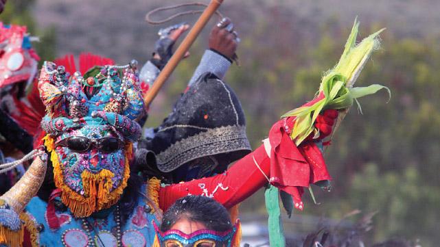 Carnival in the Quebrada de Humahuaca, Jujuy, Argintina