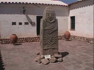Museo Arqueológico en Tilcara - Quebrada de Humahuaca, provincia de Jujuy, Argentina