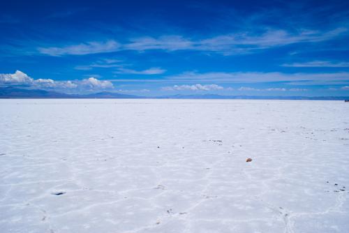 Salinas Grandes en la región de la Puna, provincia de Jujuy, Argentina