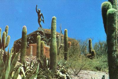 Monumento al Inca en Humahuaca - Quebrada de Humahuaca, provincia de Jujuy, Argentina