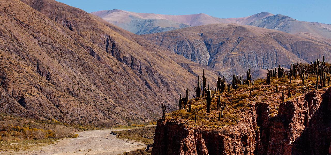 Quebrada de Juella en la Quebrada de Humahuaca, provincia de Jujuy, Argentina