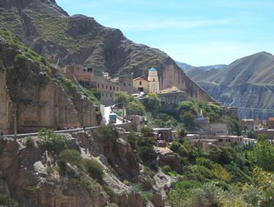 Trekking from Iruya to San Isidro in Salta, Argentina