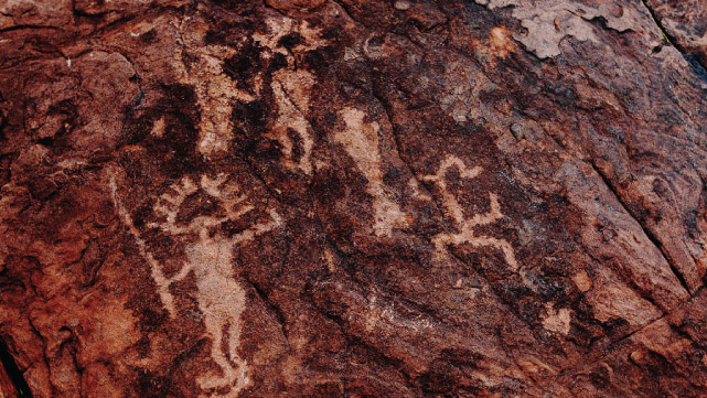 Cave Paintings in Sapagua - Quebrada de Humahuaca, Jujuy, Argintina