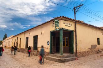 Humahuaca in the Quebrada de Humahuaca, Jujuy, Argentina