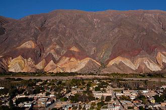 Paleta del Pintor en Maimará - Quebrada de Humahuaca, provincia de Jujuy, Argentina
